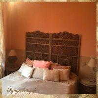Schlafzimmer Apricot Seminarhaus Mecklenburg - Impressionen