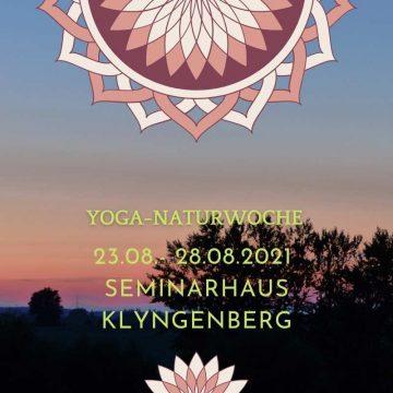 Yoga-Naturwoche im Seminarhaus Klyngenberg