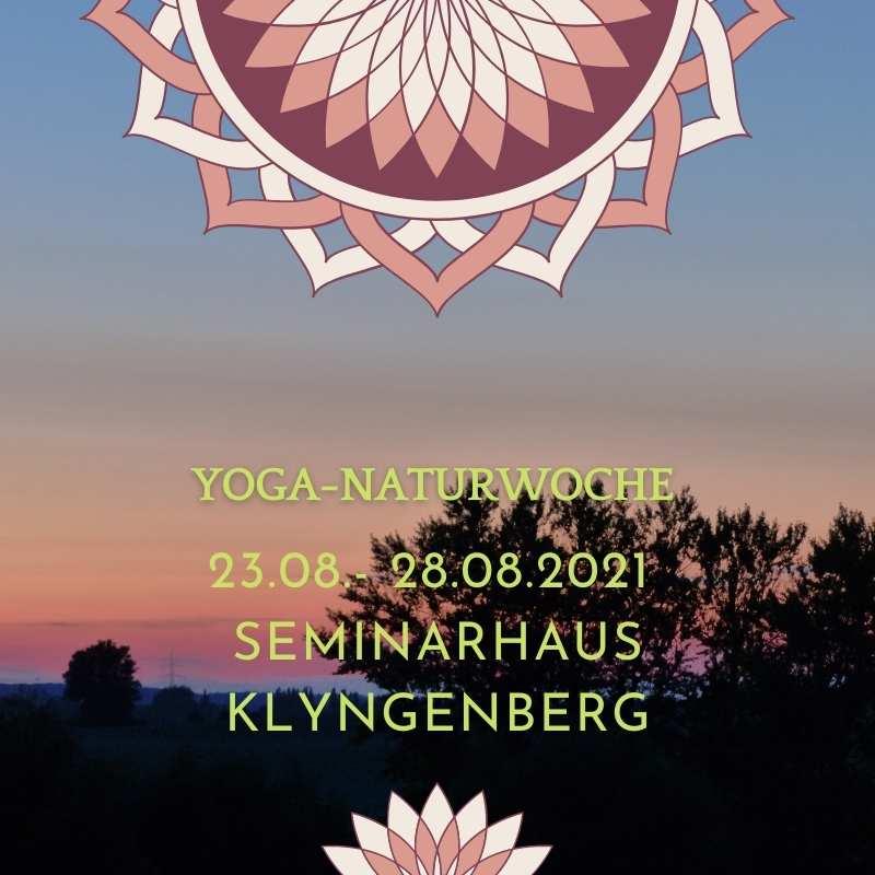 Yoga Naturwoche - Yoga-Naturwoche im Seminarhaus Klyngenberg